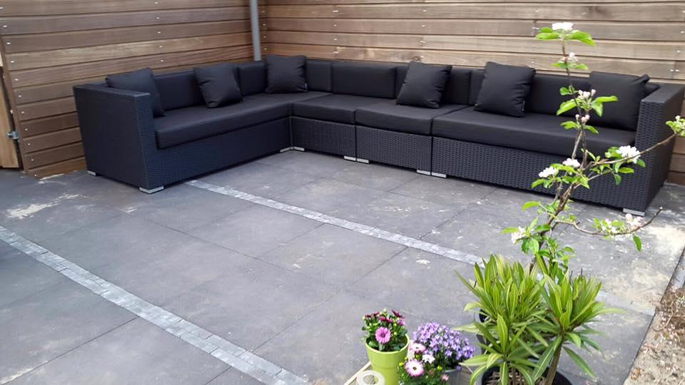 Tuin Hoekbank Lounge : Arbrini design tuinmeubelen