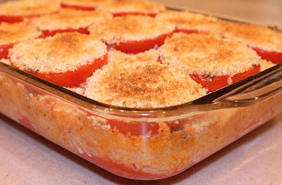 tomatoes au gratin