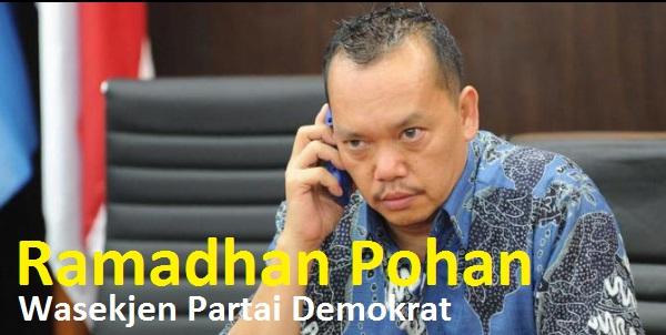"""HOT NEWS - Wasekjen Demokrat """"Ramadhan Pohan"""" Dijemput Paksa, Tersangka Dana Kampanye 24 Milyar"""