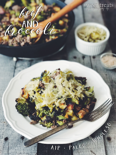 Beef and Broccoli (AIP, Paleo, Whole30)