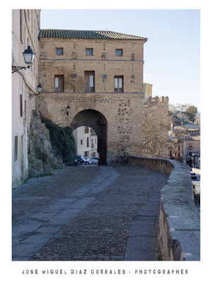 Puerta de Alarcones en Toledo