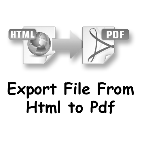Export HTML page into PDF File using Javascript | Sanwebcorner