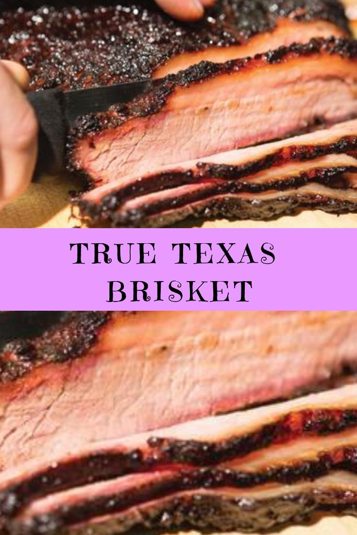 True Texas Brisket Recipe