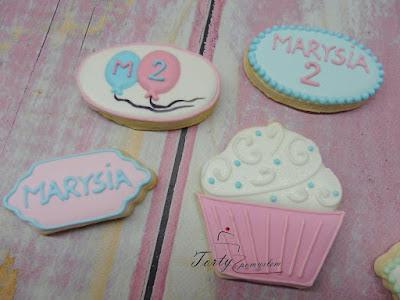 ciasteczka na drugie urodziny