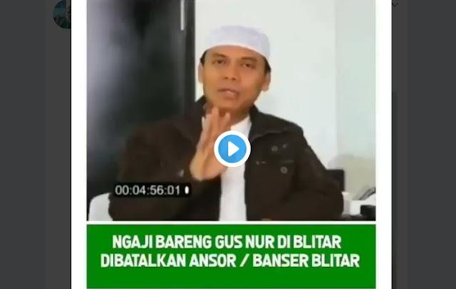 VIDEO: Astagfiullah Kembali Terjadi, Pengajian Islam oleh Gus Nur Dibubarkan BANSER Blitar