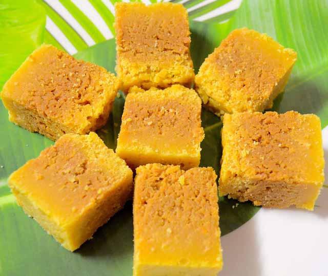 Mysore pak best food city in India