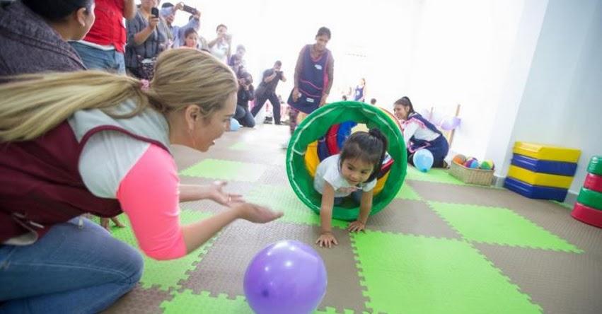 CUNA MÁS: Madres de Carapongo cuentan con programa social para el cuidado de sus hijos - www.cunamas.gob.pe