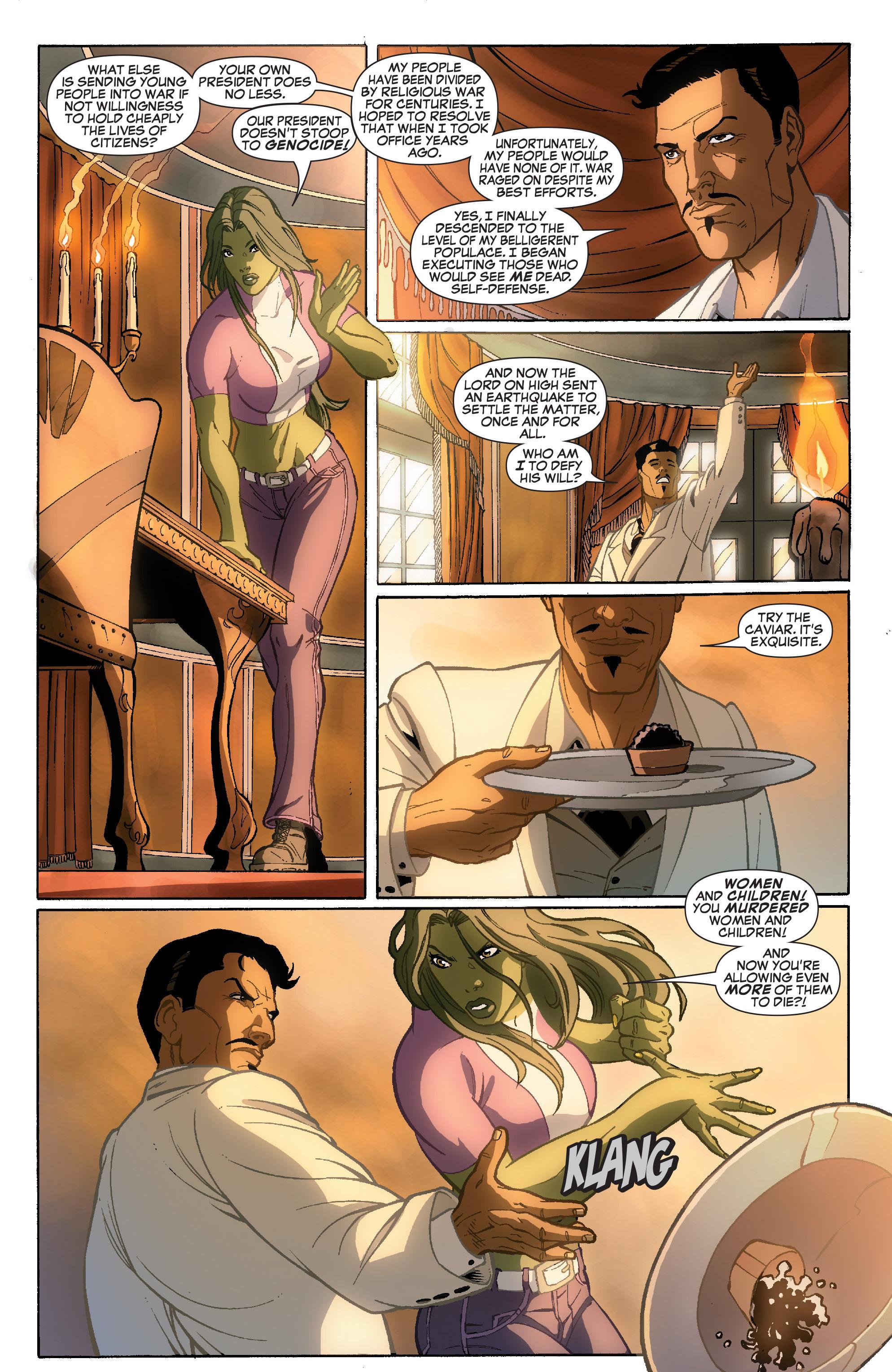 Read online She-Hulk (2005) comic -  Issue #36 - 6
