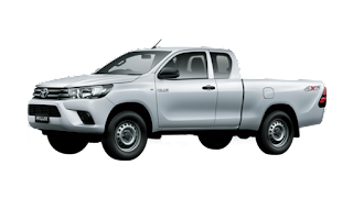 Toyota Hilux Extra Cabin