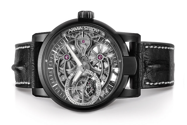 Armin Strom Tourbillon Skeleton Earth Mechanical Hand-wound Watch