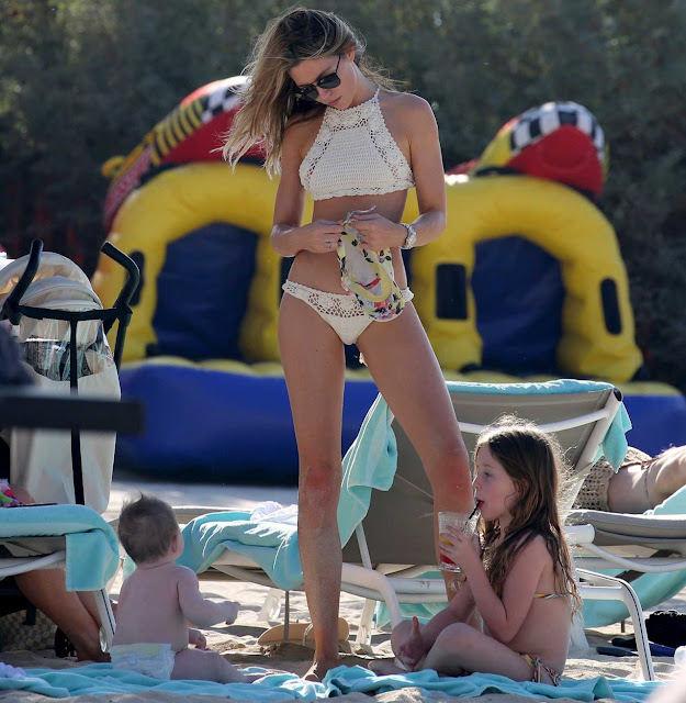 Abbey Clancy Bikini Pics – Dubai