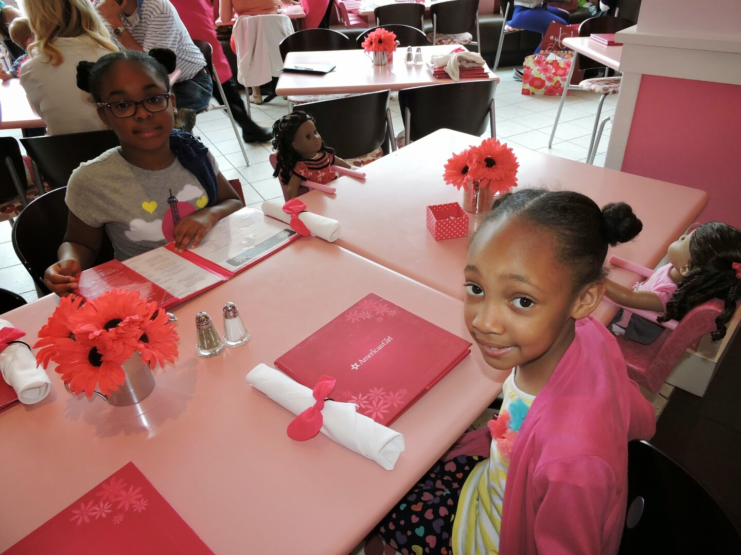 Weekend Fun at American Girl Store and Famous Footwear  via www.productreviewmom.com