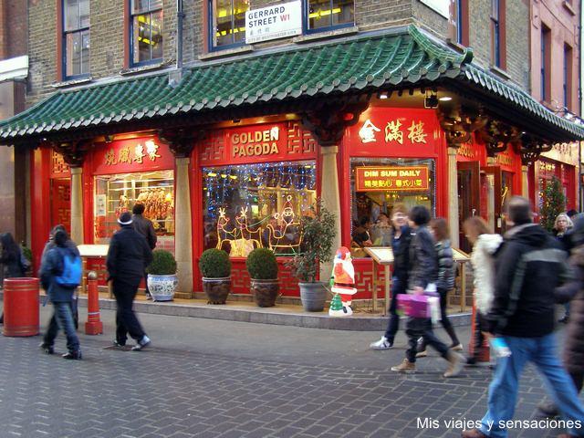 Barrio de ChinaTwon, Londres
