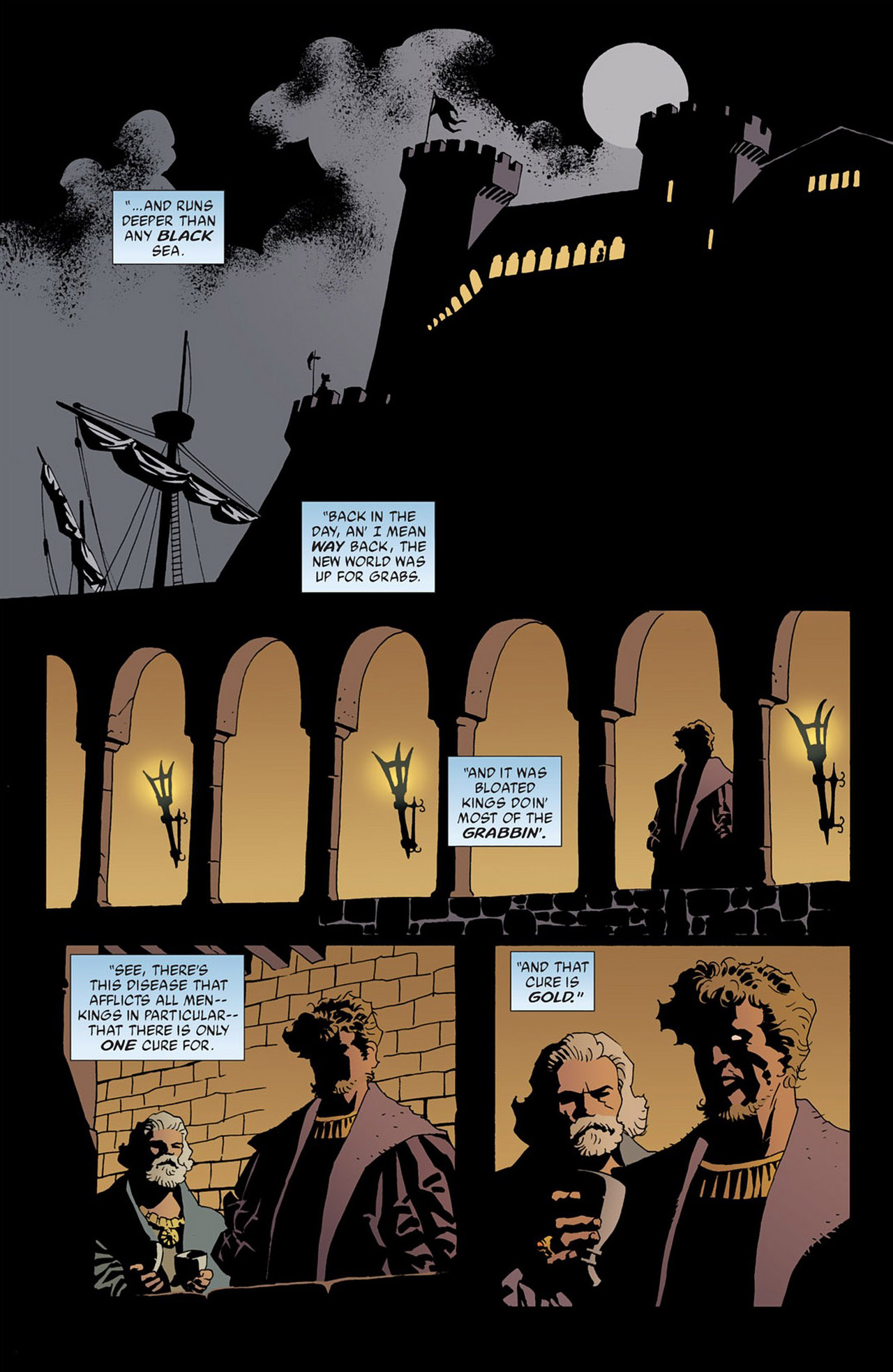 Read online 100 Bullets comic -  Issue #50 - 8