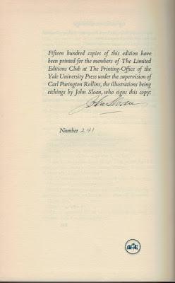 Of Human Bondage by W. Somerset Maugham & Sloan - Sloan's signature