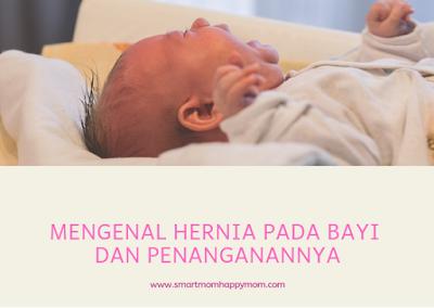 mengatasi hernia pada bayi