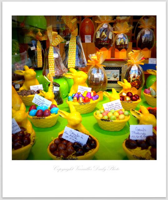 Chocolats Pâques Au Roi Soleil Versailles Easter chocolate