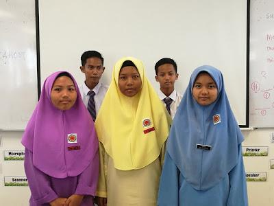 Kumpulan murid dengan gaya pembelajaran secara Kinestetik