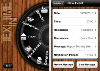 TextinTime iPhone app is for scheduling SMS texts