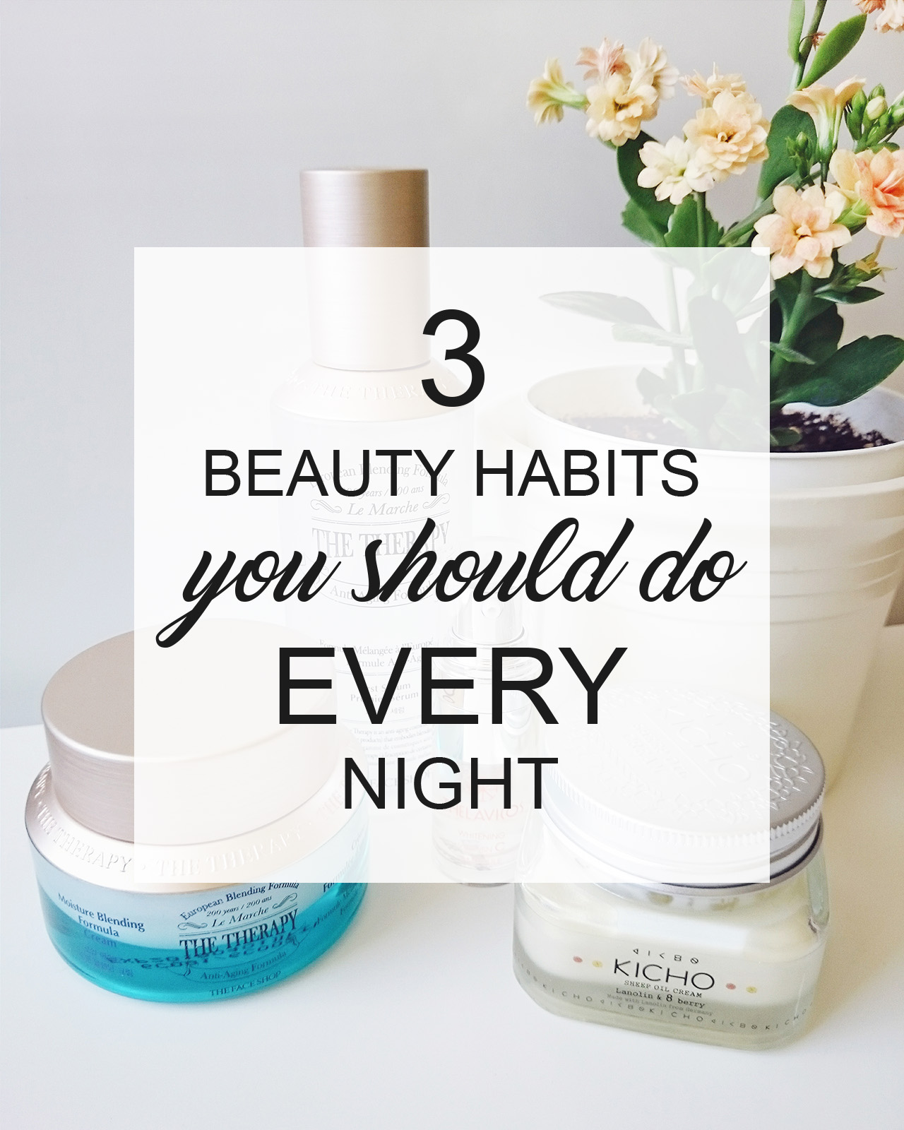 beauty habits