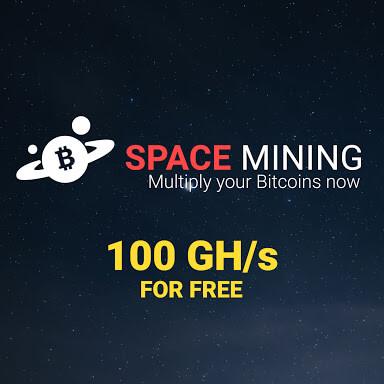 Cara mendapatkan Bitcoin & 100 Gh/s dari Spacemining.io