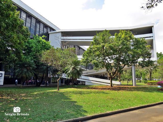Vista ampla de parte do Pavilhão da Bienal Ibirapuera - Ibirapuera - Vila Mariana - São Paulo