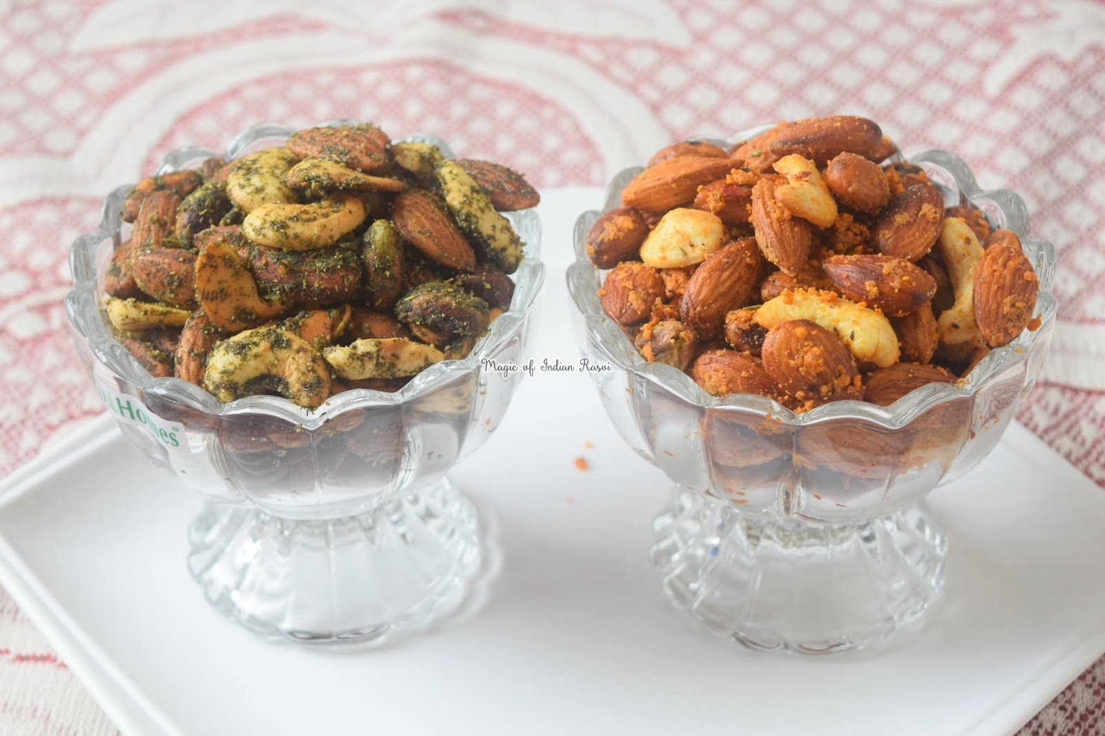 Masala Mint & Italian Herbs & Cheese Flavoured Dry Fruits Recipe - 4