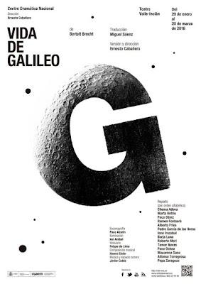 "Bertold Brecht, Ramón Fontseré, ""Galileo Galilei"", ""Vida de Galileo"""