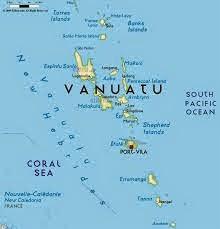Peta Negara Vanuatu