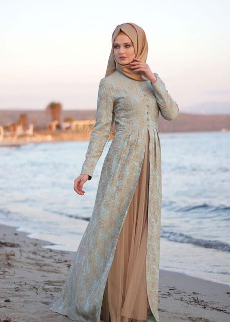 model baju muslim gamis