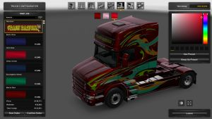 Abstract Skin for Scania T
