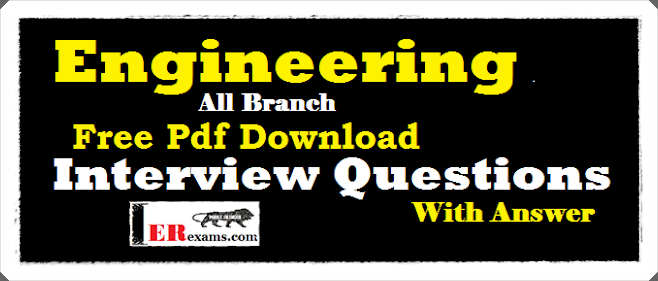 Engineering All Branch Interview Questions with Answer Free Pdf Download