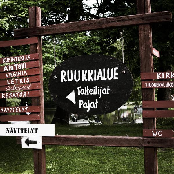 PauMau blogi nelkytplusbloggari nelkytplus nelkytplusblogit ruukki picnic 2015 ruotsinpyhtää strömforsin opaskyltti