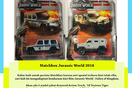 Matchbox Jurassic World 2018