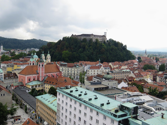 3 days in Ljubljana: Views from Nebotičnik Skyscraper