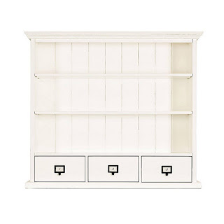 ballard designs 3 drawer hutch
