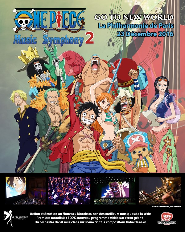 ONE PIECE en ciné-concert symphonique à la Philharmonie de Paris