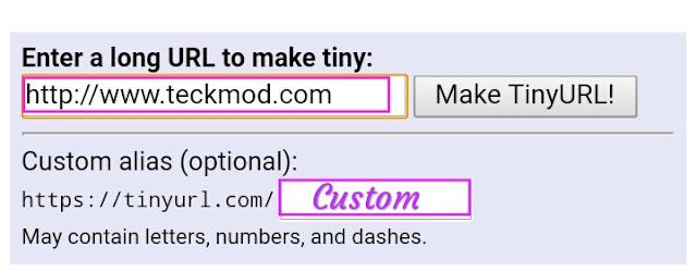 Tinyurl top url Shortener website for free