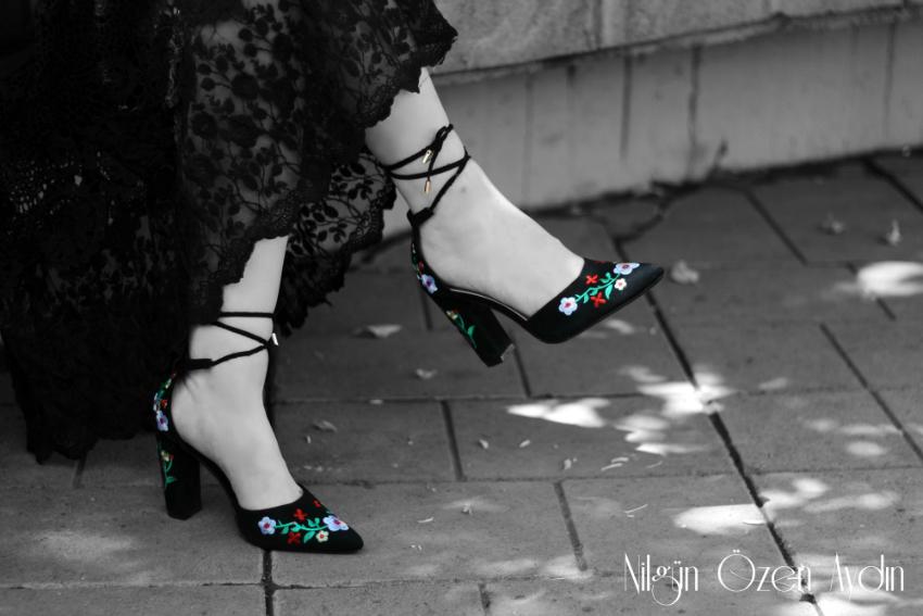 alışveriş-Rosegal-nakışlı ayakkabı-bohem tarz-dantelli elbise-moda blogu-fashion blog-fashion blogger
