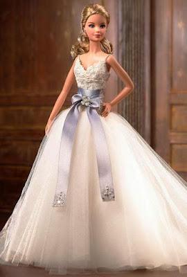 Gaun Pengantin ala Barbie Terbaru