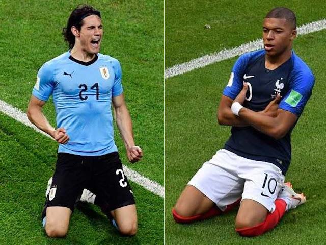 يلا شوت الجديد موعد وتوقيت مباراة أوروجواي وفرنسا اليوم 6/7/2018 يوتيوب HD كورة لايف إتش دي كورة