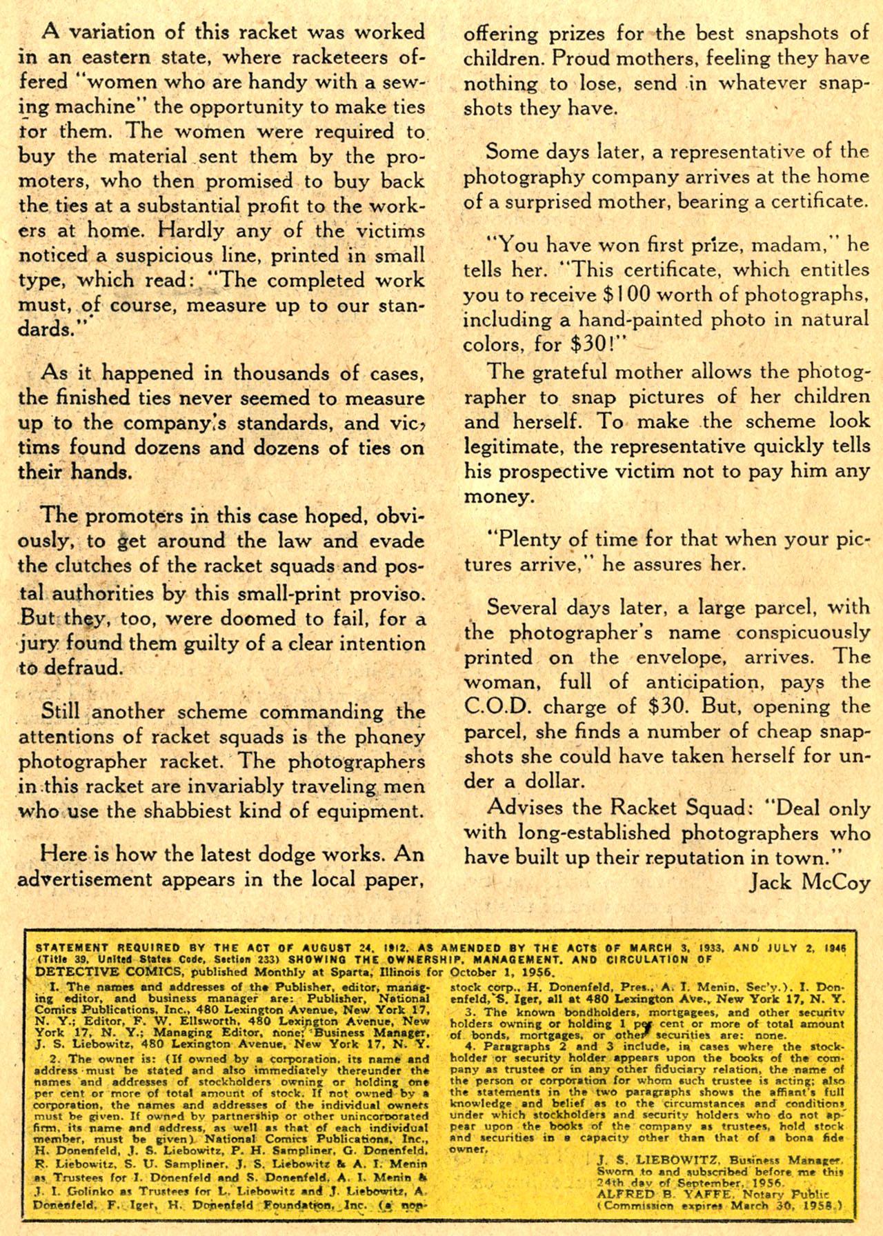 Read online Detective Comics (1937) comic -  Issue #241 - 26