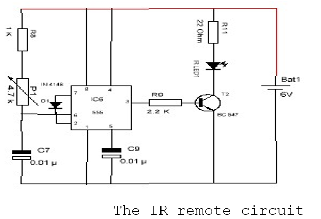 Infrared switch and Remote mini project | Embedded C