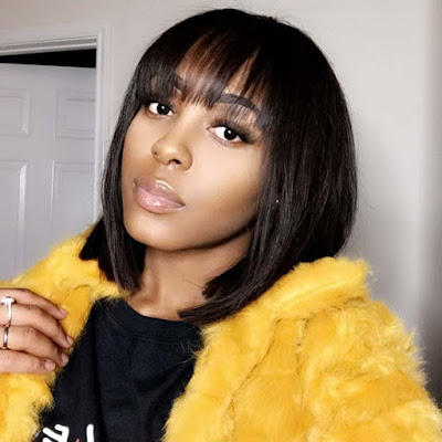 24+ Inverted Bob Weave Hairstyles For African American Women 1