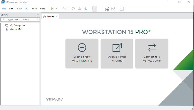 VMware Workstation Pro 15.0.3