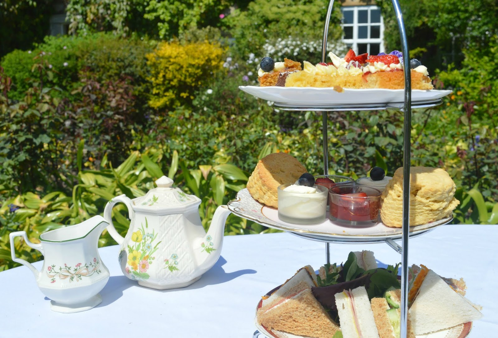 Afternoon Tea at Crook Hall and Gardens, Durham