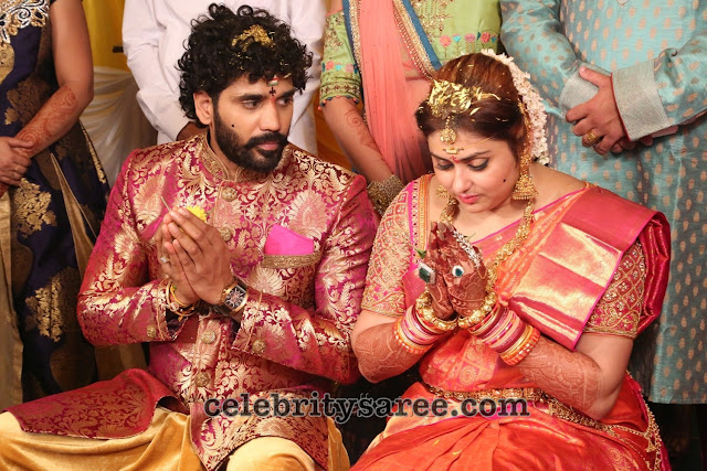 Actress Namitha Veera Wedding1