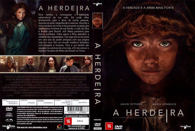 Capa DVD A Herdeira