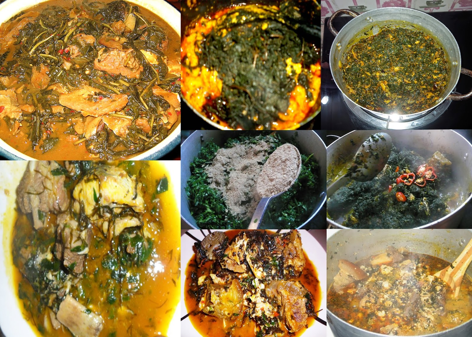 Image result for collage of south eastern food in nigeria