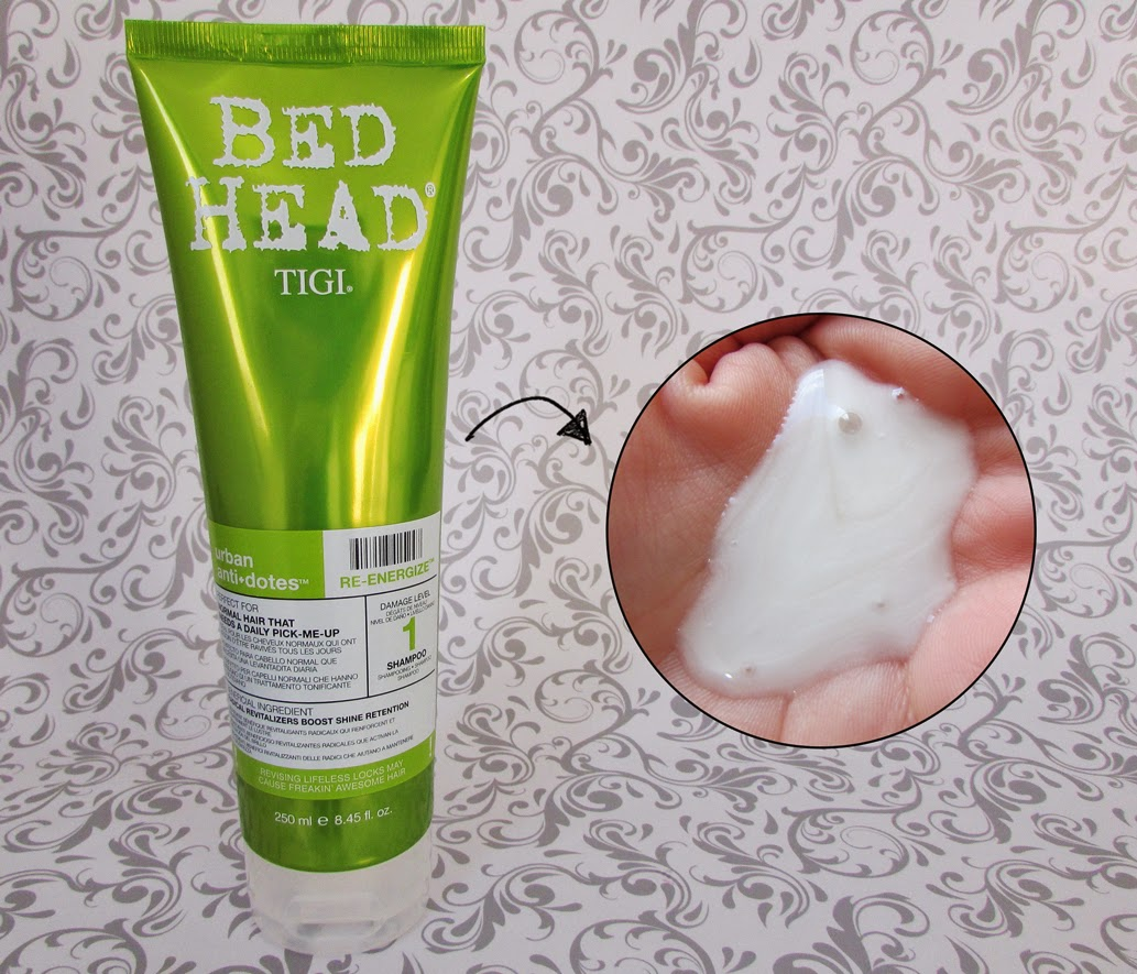 Shampoo, Urban Antidotes Re-Energize, TIGI Bed Head